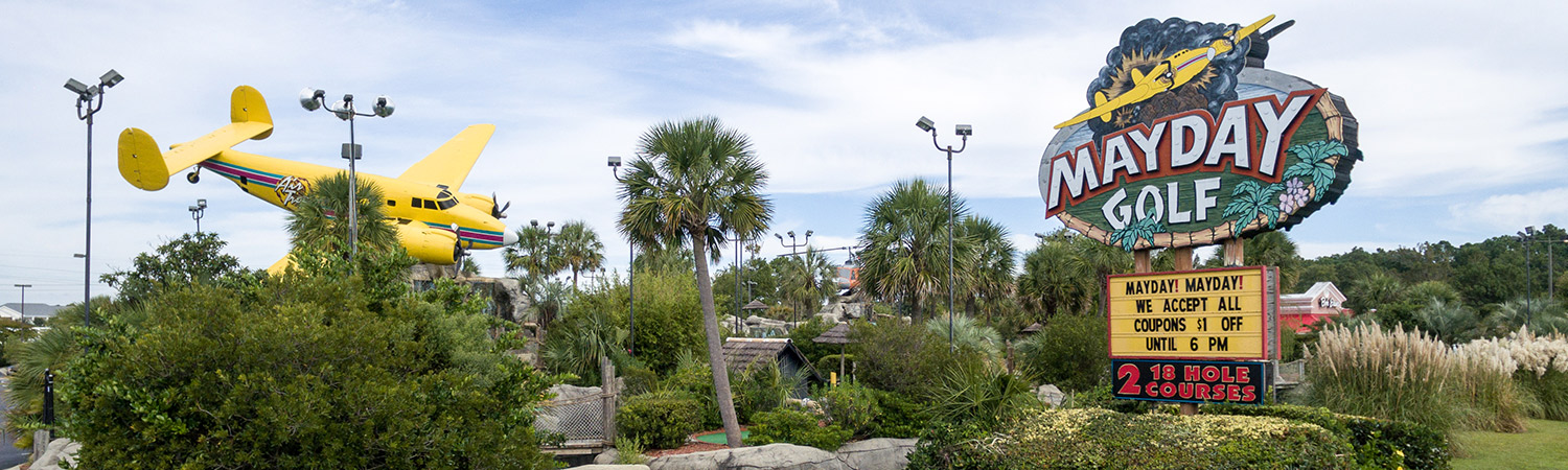 Myrtle Beach Mini Golf Course