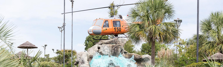 Rescue Falls Mini Golf Course