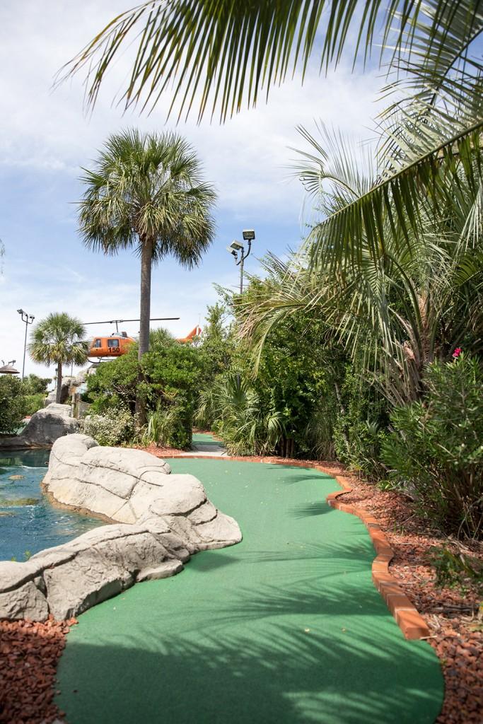 miniature golf course in south carolina